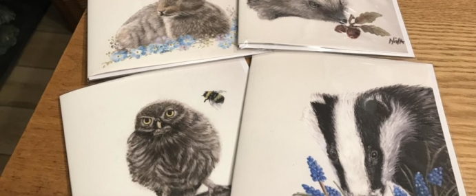 New Wildlife Cards/Prints